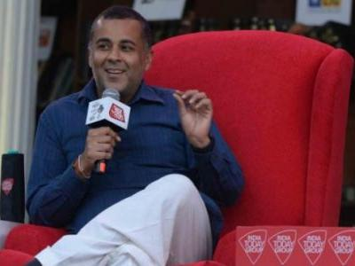 MeToo allegation against me is false: Chetan Bhagat at Sahitya Aaj Tak