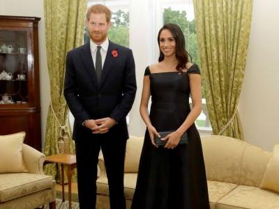 Meghan Markle Wore a Thing: Black Gabriela Hearst Dress in New Zealand Edition