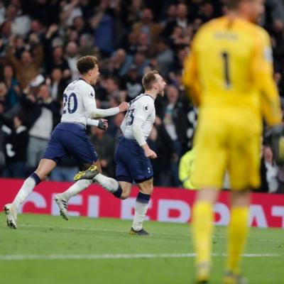 Eriksen strikes late to give Spurs 1-0 victory over Brighton