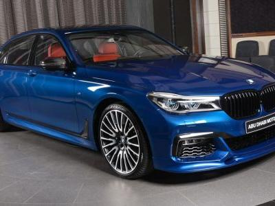 Avus Blue 750Li Is An Alluring Mix Of BMW Individual And Aftermarket Parts