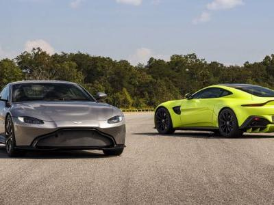 Aston Martin Actually Designed The New Vantage Before Bond's DB10