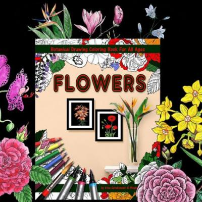 Adding Drama To The Flower - Coloring Book - Volume III Is HERE