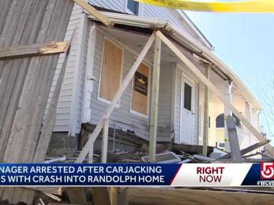Teen faces charges after crashing stolen car into home