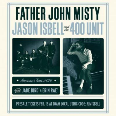Father John Misty and Jason Isbell & The 400 Unit announce co-headlining 2019 tour