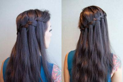 A Step-By-Step Guide to Mastering the Waterfall Braid