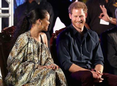 Rihanna and Prince Harry meet in Barbados to take a HIV test