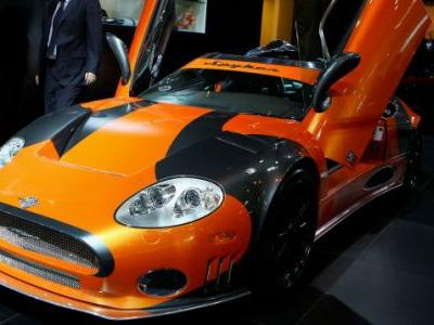 Sports Car Maker Spyker Is All Out Of Money-Again