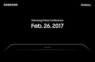 Live from Samsung's 2017 MWC press conference