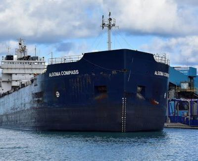 BIG SHIP MAKES A U-TURN AND STILL WORKING ON THE FREEDO VANDITO CLEAN-UP