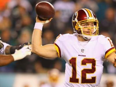 Redskins QB Colt McCoy leaves game with lower leg injury, questionable to return