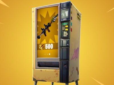 Capitalism comes to Fortnite with new vending machines