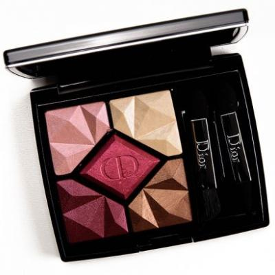 Dior Ruby (857) High Fidelity Colours & Effects Eyeshadow Palette Review, Photos, Swatches
