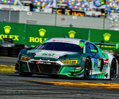Audi finishes Second at Daytona - almost. Then finishes third with a different car