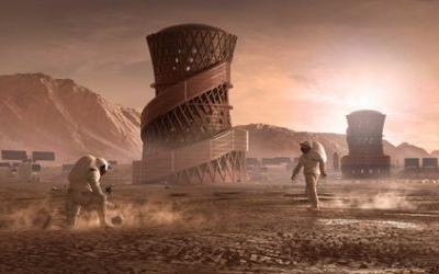 SEArch+ and Apis Cor Win Latest NASA Competition for 3D Printed Habitats on Mars