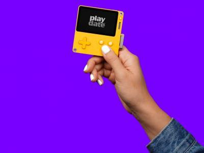 Playdate is a funky mini gaming handheld slated for 2020