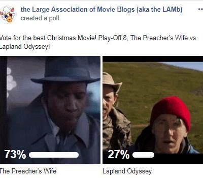 LAMBracket: Best Christmas Movie Play-Off 8 Results