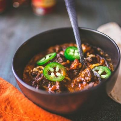 Slow Cooker Chile Con Carne