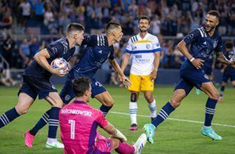 Dániel Sallói scores in extra time as Sporting KC salvage 1-1 draw vs. Earthquakes