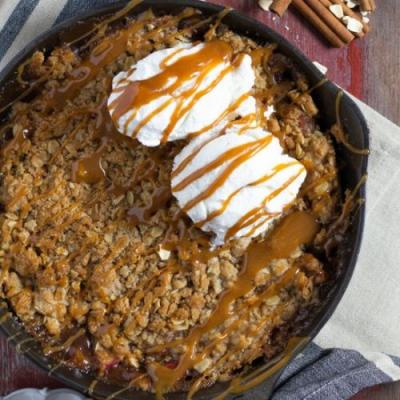 Homemade Apple Crisp