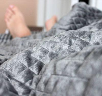 What it's like to use the Gravity Blanket, a $250 weighted blanket that's designed to reduce stress and help you sleep