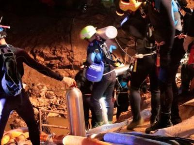 'We are not sure if this is a miracle, a science, or what': Thai Navy SEALs celebrate as trapped soccer team rescued from cave