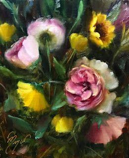 Dreaming of Spring by artist Pat Meyer
