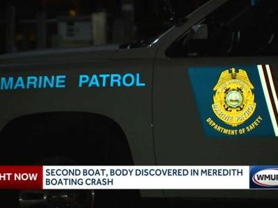 Second boat, body discovered in Meredith boating crash