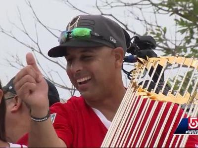 Red Sox bring World Series celebration to Puerto Rico