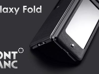 Samsung Galaxy Fold 5G hits the Korean market with a Montblanc protective case