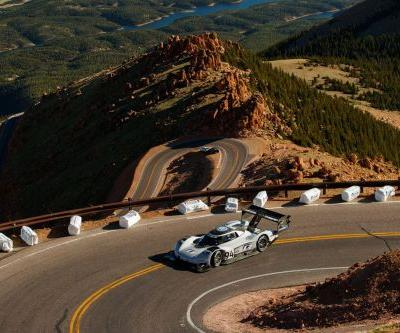 Volkswagen's EV racecar just broke records during this year's Pikes Peak Hill Climb