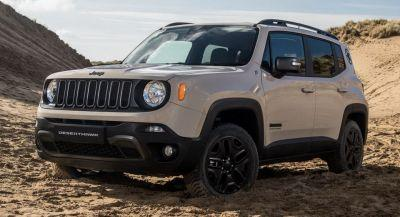 Jeep Debuts New Limited Edition Renegade 'Desert Hawk' In Britain