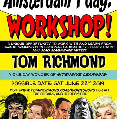 Amsterdam Part 2: One Day Workshop?