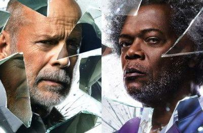Glass Character Posters Bring Out Unbreakable Heroes & Split