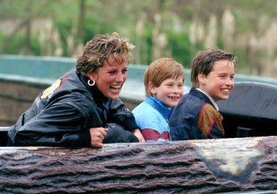 In new Princess Diana biopic, her sons recall the rushed final call with her they'll never forget