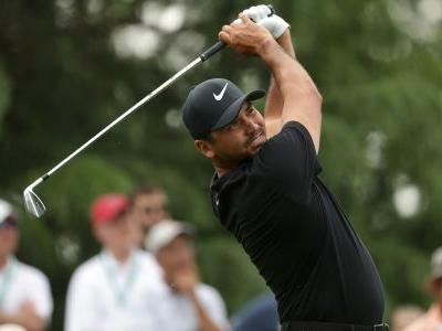 Jason Day in driver's seat but big names lurking at Wells Fargo