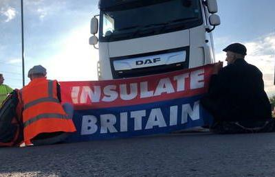 Insulate Britain announces it will suspend chaotic campaign blocking major roads. for less than 2 weeks