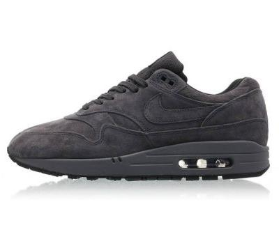 "Nike's Air Max 1 Premium Gets a ""Triple Anthracite"" Treatment"