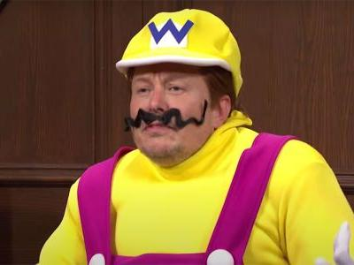 Elon Musk Dressed As Wario On SNL, Called Mario Out For Eating Mushrooms