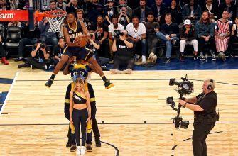 Pacers' Glenn Robinson III wins Slam Dunk Contest