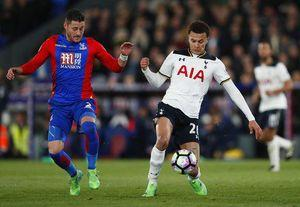 Tottenham trims Chelsea's lead to 4 points by beating Palace