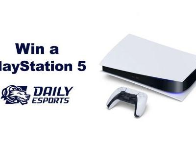 You could win a PlayStation 5 from Daily Esports GG