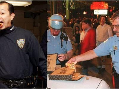 The New York and Chicago police departments are feuding over National Pizza Day on Twitter