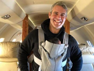 Andy Cohen Debuts His Baby In PEOPLE Spread