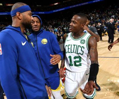 Celtics destroy Warriors as things get testy