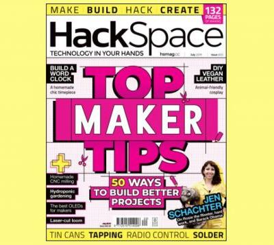 HackSpace magazine features 50 ways to build better projects
