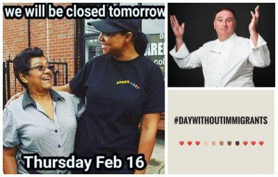 Restaurants Around Country Close For Day Without Immigrants Protest