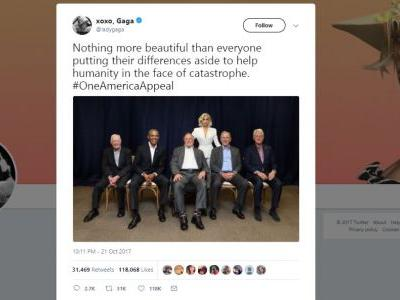 'As The Founders Intended': Twitter Loves Photo of Former Presidents With Lady Gaga