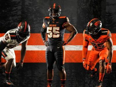 Oregon State unveils new uniforms for 2019