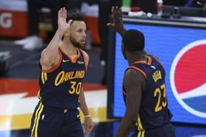 Stephen Curry scores 38 points, Warriors beat Rockets