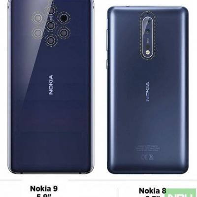 Nokia 9 PureView & Nokia 2.1 Plus passed European GCF certification in 2018